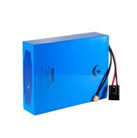 china livre baterias de alta energia recarregável de iões de lítio 72v pacote 35AH lítio para 100W a 3000W motor + 4A Carregador