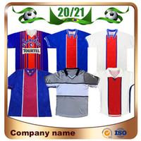 1993/1994 Retro-Version Paris Fussball Jerseys 93/94 WEAH Rai Ginola Soccer-Hemd 94/96 95/96 98/99 2000 Fußballuniform