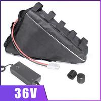 36V Triângulo bicicleta eléctrico da bateria de 36 V com 20AH 3A Carga 1000W 2000W BMS Ebike bateria