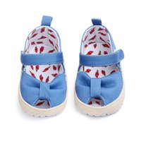 2019 Baby Summer Shoes Newborn Infant Baby Girls Boys Shoes Solid Non-slip Striped Canvas Casual Breathable Toddler 0-18M