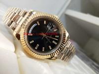 best seller orologi da polso di alta qualità DAY DATE President Diamond 228238 40mm oro giallo 18k Asia 2813 movimento automatico degli uomini orologi