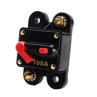 Interruptor de circuito de audio para automóvil, reparado Reemplace el fusible Restablecer el interruptor de límite 100A