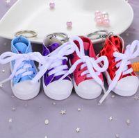 3d حذاء رياضة المفاتيح الجدة قماش أحذية رئيسية حلقة الأحذية مفتاح سلسلة حامل حقيبة يد قلادة تفضل