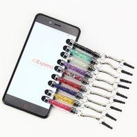 1000pcs / lot al por mayor tapón de buena calidad polvo lápiz óptico para pantalla tactil Cristal ultra suave de alta sensibilidad para el teléfono móvil Tablet PC