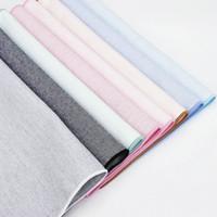 Высокое качество 100% хлопок классические костюмы твердые карманный квадрат 25 см * 25 см мужские носовые платки грудь полотенце дамы синий розовый платок подарок C19041301