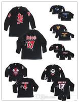 Jersey personalizzato 5XL 6XL folle pagliaccio POSSE MILENKO Riddlebox Shangri Dope Jake Jeckel hockey jersey ricamo cucito personalizza qualsiasi numero a