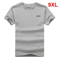 Oversized T- shirt Men Big Size Tops Tees Male 2019 Summer So...
