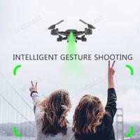 Plegable HDRC D8 WIFI 1080P cuatro ejes Drone cámara HD Quadcopter 20 minutos Duración del vuelo 6,6 4K batería WIFI Dentro de DHL UPS de envío