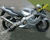 Motorrad-Karosserie-Teile für Honda CBR600 F4 1999 2000 CBR 600 CBRF4 600F4 Motorradverkleidung Aftermarket Kit Silber (Spritzgießen)