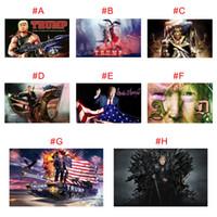 O transporte da gota Digital personalizado Imprimir 90 * 150 centímetros Trump 2020 Bandeiras Banners eleição para Presidente EUA 3 * 5 pés de metal Grommet Personalidade decortive