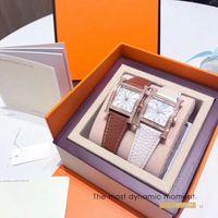 Dropshiping New Fashion Women Top vende Rose Gold Genuine Relógio De Couro relógio de pulso de luxo senhora Assista Moda Popular por atacado de alta qualidade
