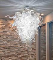 مصابيح مصمم قلادة غرفة مصممة مشرق المنزل مصباح الثريات الملونة الحديثة نمط مورانو ناحية في مهب الزجاج chandeleir ضوء مع المصابيح الصمام