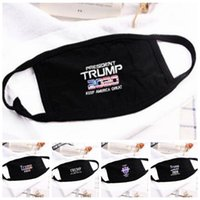 5 Styles Donald Trump Maske Gesicht Mund-Maske Funny Anti-Dust Cotton USA Damen Herren Unisex Fashion Winter Black Mask Warm