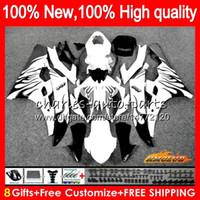 Body OEM voor Yamaha YZF R 6 600CC YZF 600 YZF-600 06-07 Frame 61NO.89 YZF-R6 YZF600 YZF R6 YZFR6 06 07 2006 2007 Black Flames Fairing Kit