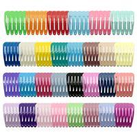 150pcs / 팩 팩 아이들을위한 헤어 드롭 헤어 클립 아이들의 다채로운 barrettes 선물 아이 헤어 액세서리 도매 높은 품질