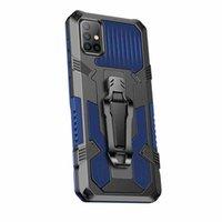حالات الهاتف درع صدمات لسامسونج غالاكسي A51 4G الوعرة الهجين الهاتف المحمول غطاء سام. GALAXYS20 زائد Ultra A21S M60S A50 A50S