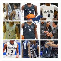 Benutzerdefinierte Sierra Canyon High School Jerseys Basketball Bronny James Zaire Wade Terren Frank Dylan Weiß Jak Miller Metoyer Boston JR Männer Jugend
