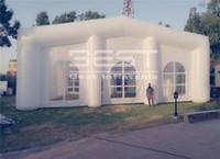 20M Длинные события выставочные украшения надувной шатер для раздувной шатра для свадьбы использовали Iinflatable Dome Tent заводская цена на пост