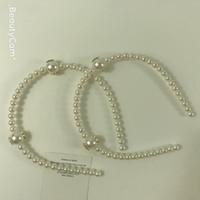 coiffure ornements cheveux cerceau cheveux de perles de mode clip en épingle à cheveux de bijoux pour Ladys collection Item ornements de cheveux Mode 2pcs / lot