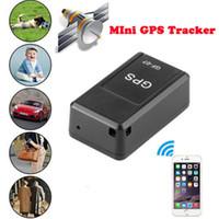 Mini GPS Locator Tracker En Temps Réel Portable Magnétique Activité Intelligente Trackers Dispositif Amélioré avec Puissant Aimant pour Véhicule Personne