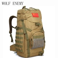 Molle 60L Camping Rucksack Tactical Backpack Large Waterproo...