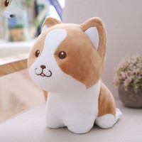 Bulldog Foxhound Corgi Dog Puppy Plush Toy Stuffed Dogs Doll...