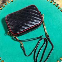 من حقائب اليد 24/18 سنتيمتر فاخرة أعلى فاخرة الكاميرا العلامات التجارية الشهيرة حقائب جديدة مصمم الإناث المرأة الجلود الكتف جودة حقيبة المرأة فيناق iuxw