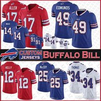 17 Josh Allen 14 Stefon Diggs Buffalo