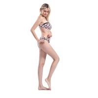 Bikinis Set Swimwear For Women Push Up Swimming Bench Bathin...