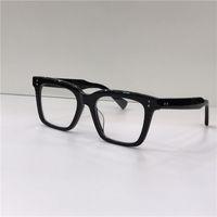 مصمم الأزياء النظارات البصرية sequoi بسيط الإطار مربع الرجعية النمط الشعبية شفافة النظارات أعلى جودة عدسات واضحة مع القضية