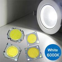 300mA Espiga LED Quadrado Chip Luz de Alta Power Bead Quente Branco 11mm / 20mm Diâmetro Superfície Luminosa, Diâmetro Externo 13mm * 13mm 28 * 28mm