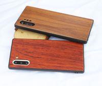 Для Samsug древесины телефон дела деревянный Вуд TPU крышки корпуса сотового телефона чехол для Samsung S20 S9 S6edge телефон случае для Iphone 11 про