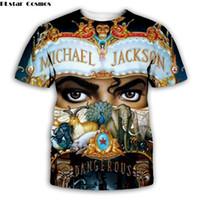 2019新しい3D Tシャツマイケルジャクソンユニセックスプリントテッチート/パーカー/スウェットシャツ/ショートパンツ樹木面白い服ヒップホップシンガー