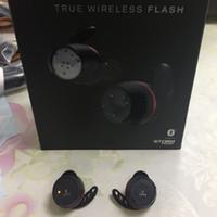 سماعات الرأس العلامة التجارية U A TRUE Wireless Flash TWS سماعات أذن لاسلكية مع شاحن مربع سماعات رأس بلوتوث ستيريو حقيقي
