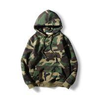 2019 Yeni Sonbahar Kış Gri Erkek Hoodie Kaykay Swearshirt Kazak Marka Giyim Eşofman Erkekler Kamuflaj Siyah Hip Hop Hoodie