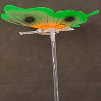 10pcs 소녀 Led 깜박이 빛 요정 나비 날개 지팡이 머리띠 빛을 재미 있은 교육 LED 빛나는 장난감
