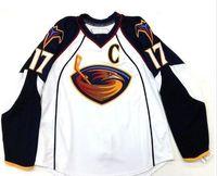 f394aac25f1 New Arrival. Customize Vintage Atlanta Thrashers #17 ILYA KOVALCHUK Hockey  ...