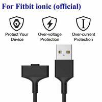 Fitbit Ionic Resmi USB Şarj Kablosu Için 1m Uzunluk Tel Şarj Kablosu Ile Değiştirme Şarj Kablosu