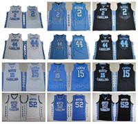 NCAA 15 College Vince Carter Jersey North Carolina Tar Heels Baloncesto 44 Justin Jackson 2 Joel Berry II 52 James Worthy Jerseys