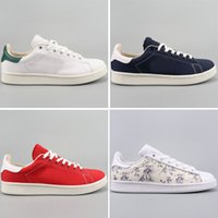 New Fashion Women Smith Canvas Shoes Men White Red Black Hig...