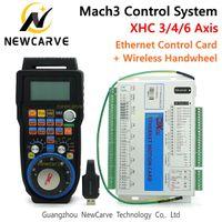 MACH3 Controller Kit XHC 2 MHZ Ethernet Breakout Bord 3 4 6 Axis Motion Control Card met MPG draadloze hanger handwiel WHB04B