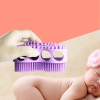 Soft Silicone Baby Bath Brush - Children Kids Body Massage S...