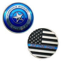 GLSY New Arrival Thin Blue Line Lives Matter Police America ...