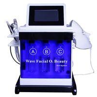 آلة جلدي للاستخدام المنزلي الترددات اللاسلكية رفع الجلد معدات الحمامات دوحة Hydrofacial هيدرا قشر التنظيف العميق آلة فراغ الرؤوس السوداء