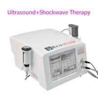 2 في 1 الضغط العلاج الطبيعي بالمستخدمين آلة الهواء صدمة الموجة العلاج آلة الموجات فوق الصوتية العلاج جهاز للجسم لتخفيف الآلام
