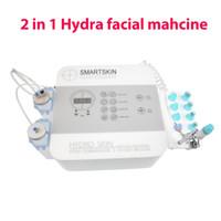 Портативный гидра настой hydrodermabrasion лица машины кислорода и нежный пилинг для спа-салон красоты домашнего использования