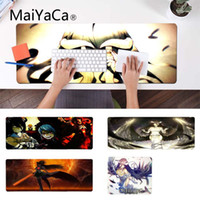 MaiYaCa Nuovo Design Albedo Overlord High Speed ​​New Mousepad Laptop Gaming Lockedge Mouse Mousepad