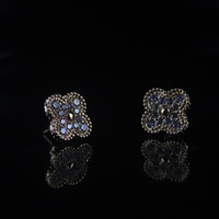 Diamond Small Earring Women 925 Silver Clip On Stud Earrings...