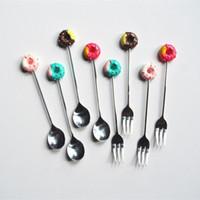 Paslanmaz Çelik Kaşık Çatal Kahve Tatlı Kaşığı Stirr çubuklar Çay Dondurma Şeker Mutfak Sofra Takımı Sofra HH9-2182