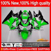 Bodys pour HONDA CBR vert clair nouveau 929RR 900 929 RR CC 900cc 929CC 900RR 76HC.84 CBR929RR CBR900RR CBR929 RR CBR900 2000 2001 00 01 Carénage